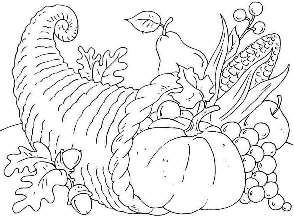 Thanksgiving Coloring Pages Free Printable