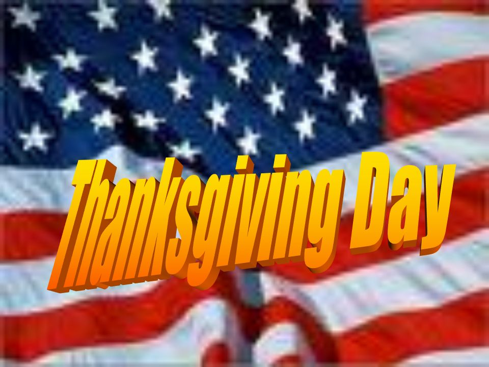 Thanksgiving Day 2018 USA Status With Flag