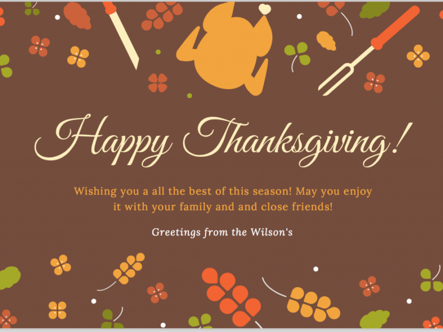 Thanksgiving Day 2018 USA Wallpaper Page