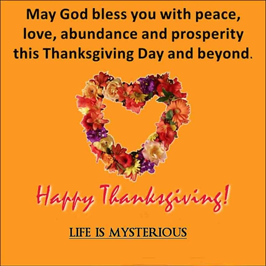 Thanksgiving Day Messages For Facebook And Whatsapp
