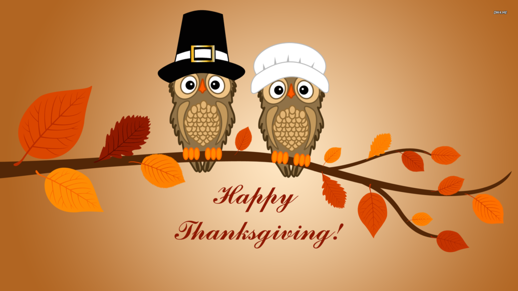 Thanksgiving Day Owl Pictures Download
