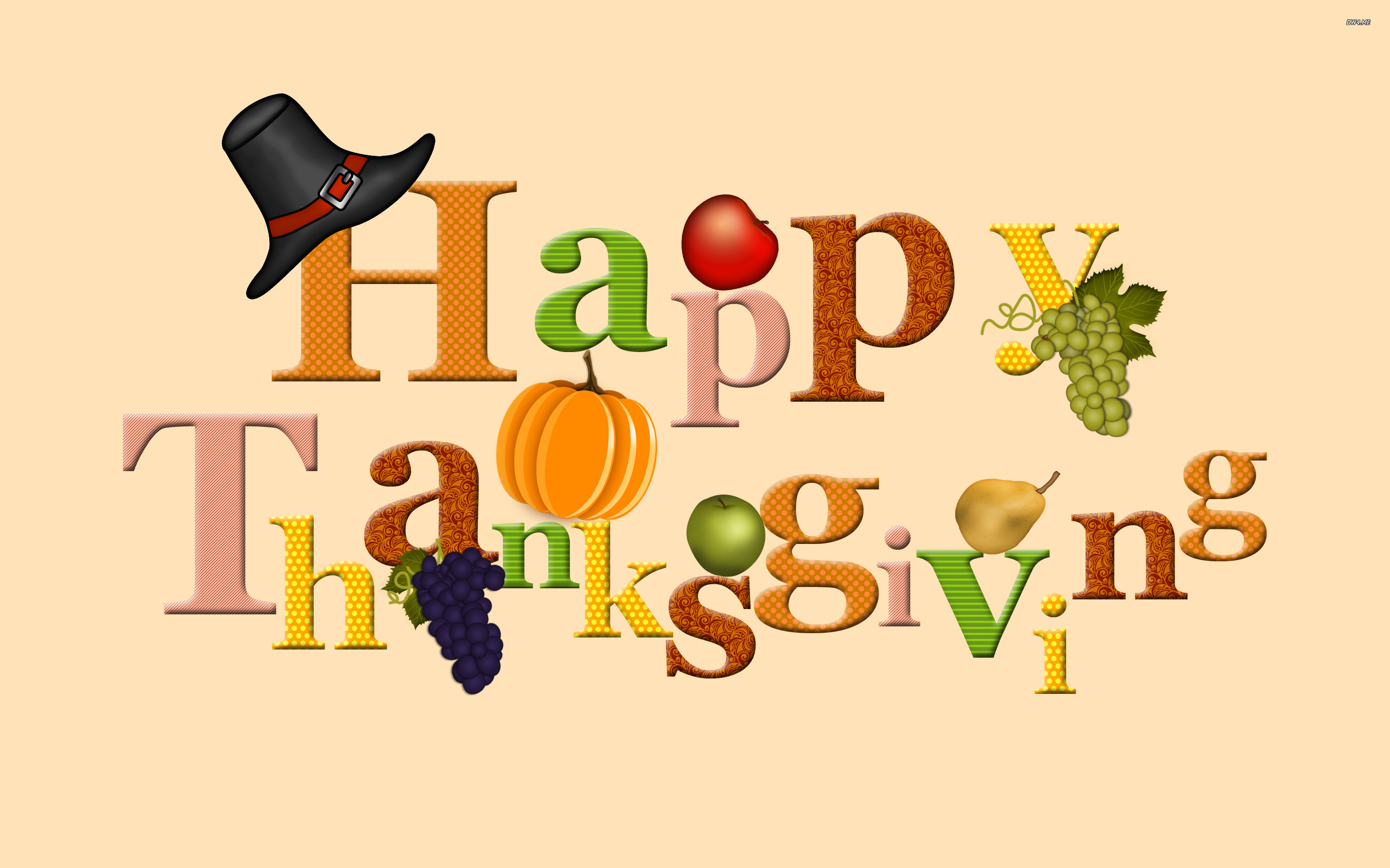 Thanksgiving Food 2018 Clipart