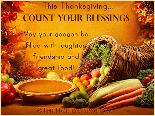 Thanksgiving Greetings Cards Quotes