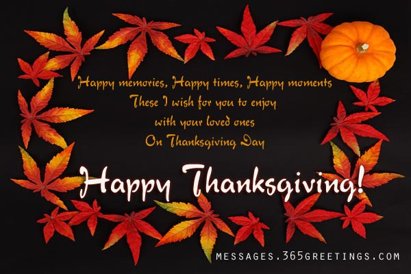 Thanksgiving Greetings To Friends