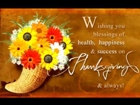 Thanksgiving Greetings and Sayings