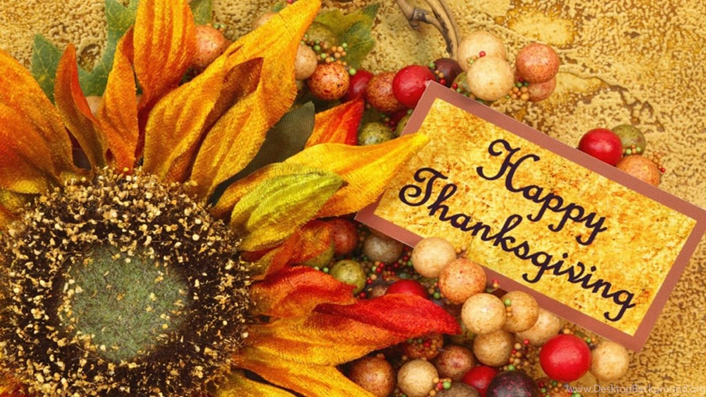 Thanksgiving Wallpaper for Desktop