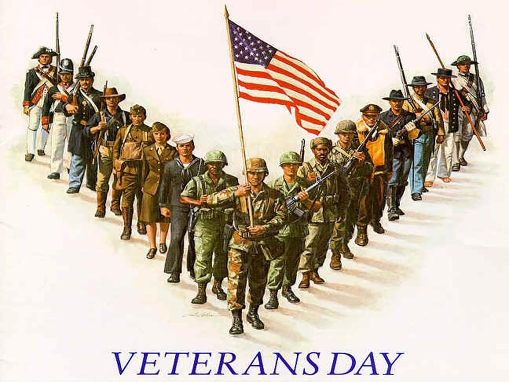 Veterans Day Clipart And Banner Picture