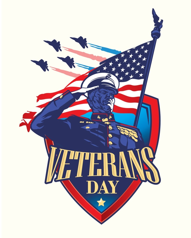 Veterans Day Solute Pictures Clipart