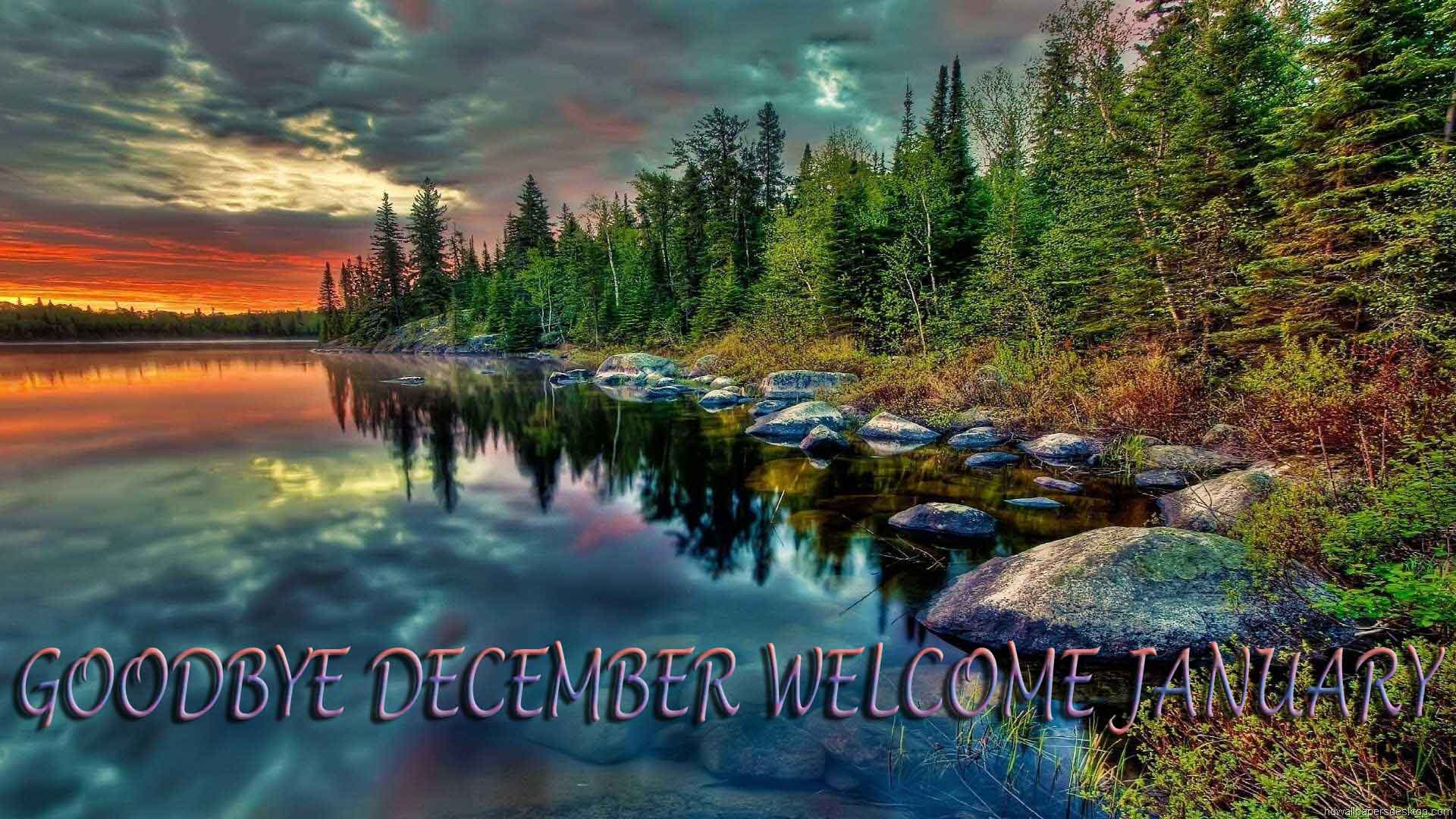 Goodbye December Hello January Images Quotes