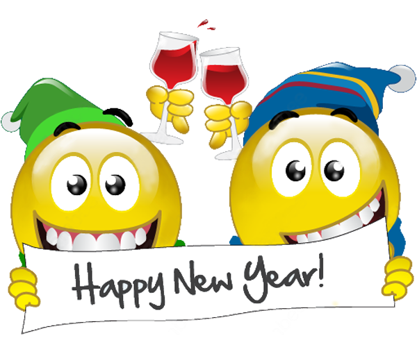 Happy New Year 2019 Emoji