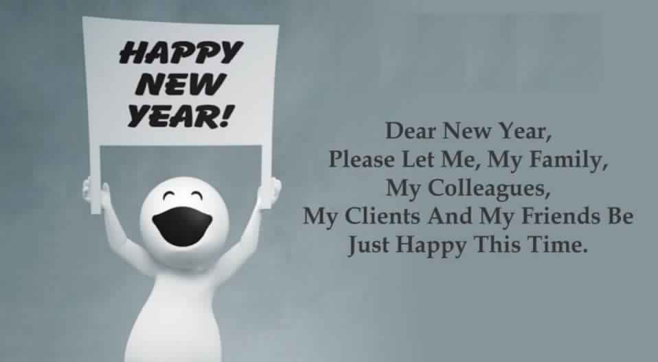 Happy New Year Jokes For WhatsApp