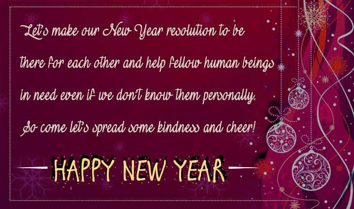 Happy New Year Messages Quotes