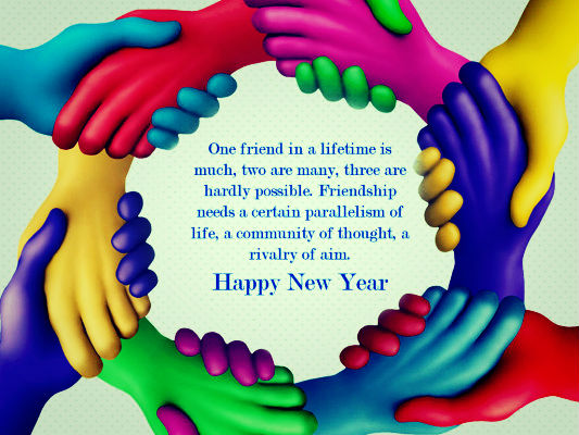 Happy New Year Quotes For Best Friend