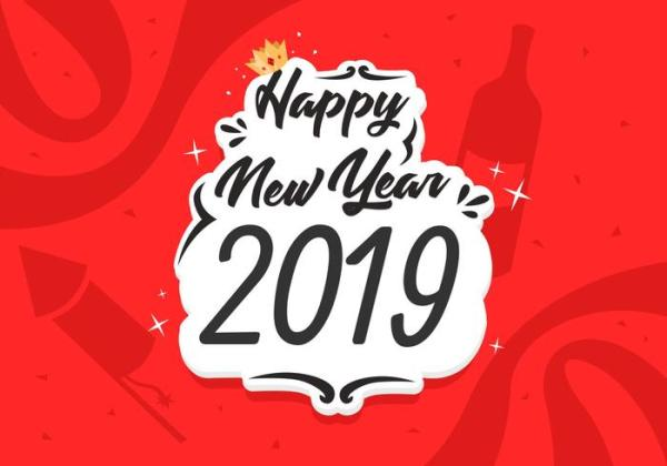 Hd Wallpaper Happy New Year 2019