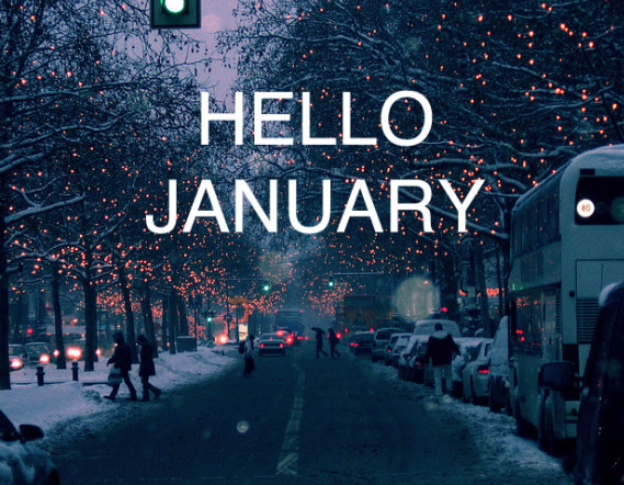 Hello January For Facebook and Whatsapp