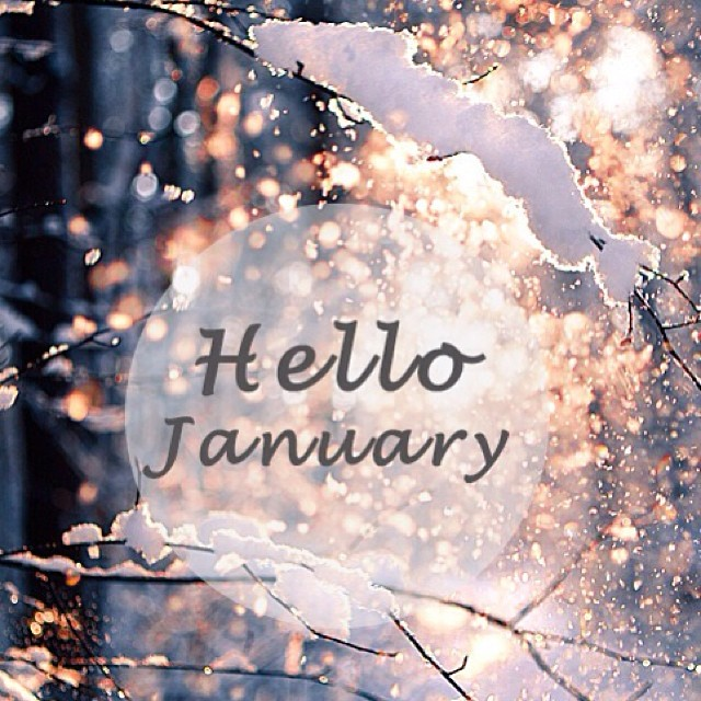 Hello January Images Free Download
