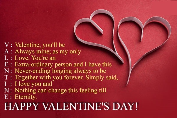 Happy Valentines Day Quotes Wishes Messages for Friends and ...