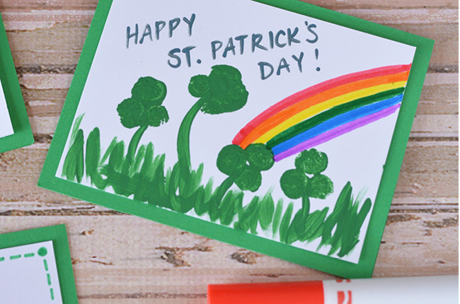 Homemade St Patricks Day Cards