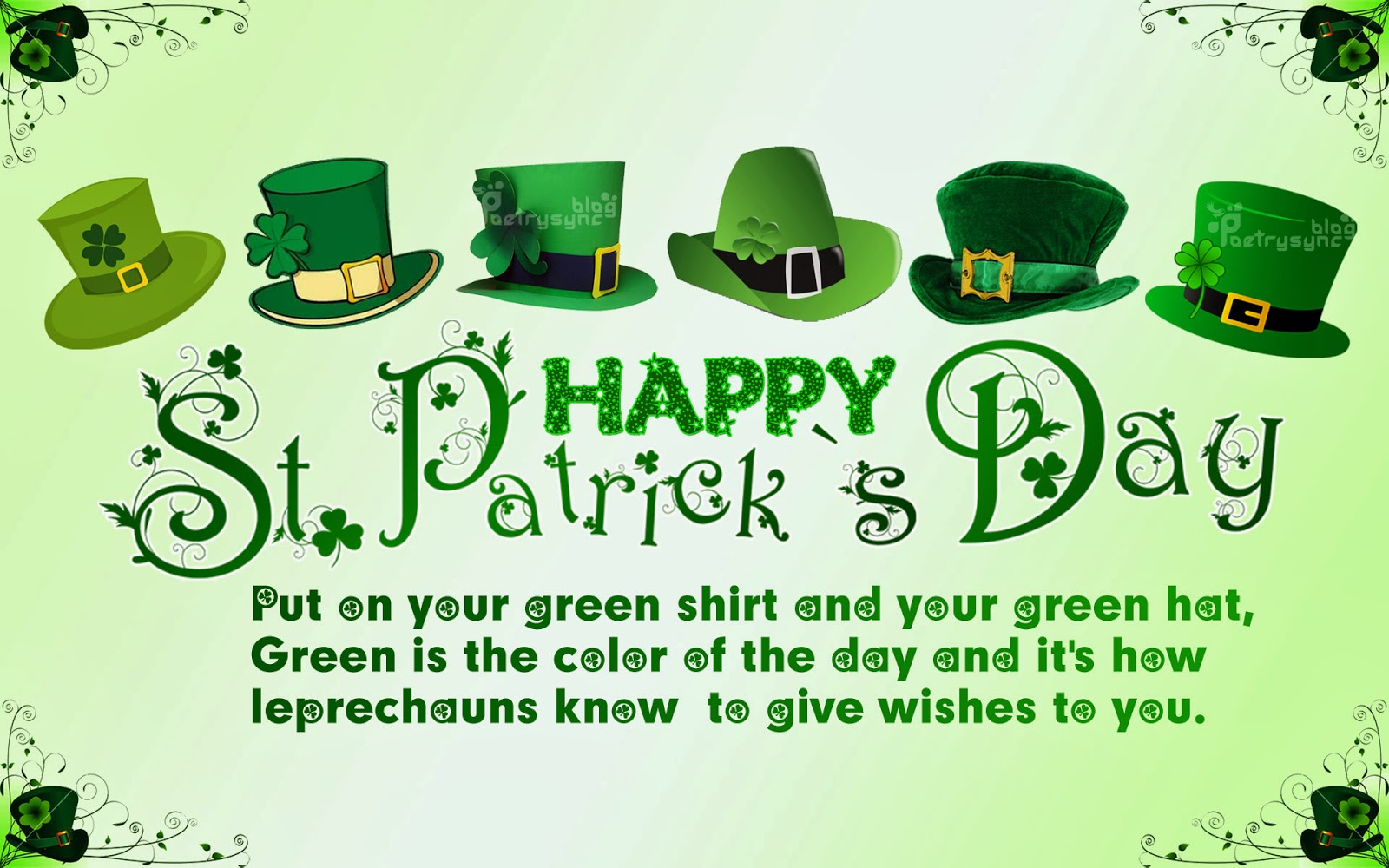 Saint Patricks Day Messages