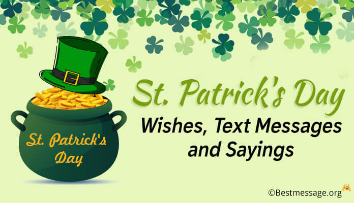 St Patricks Day Card Messages