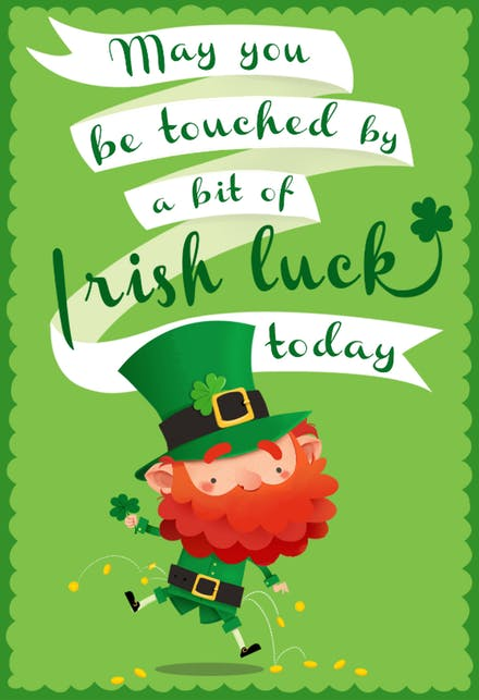 St Patricks Day Cards to Print