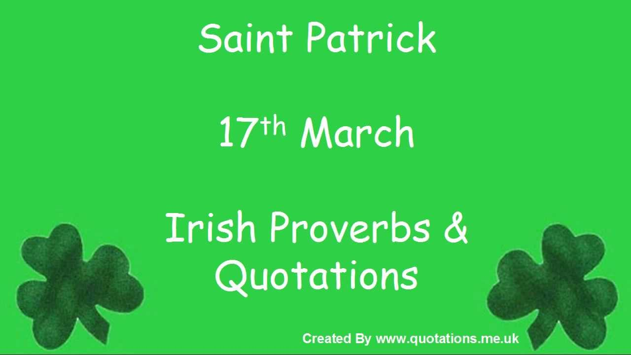 St Patrick's Day Quotes Greetings Messages