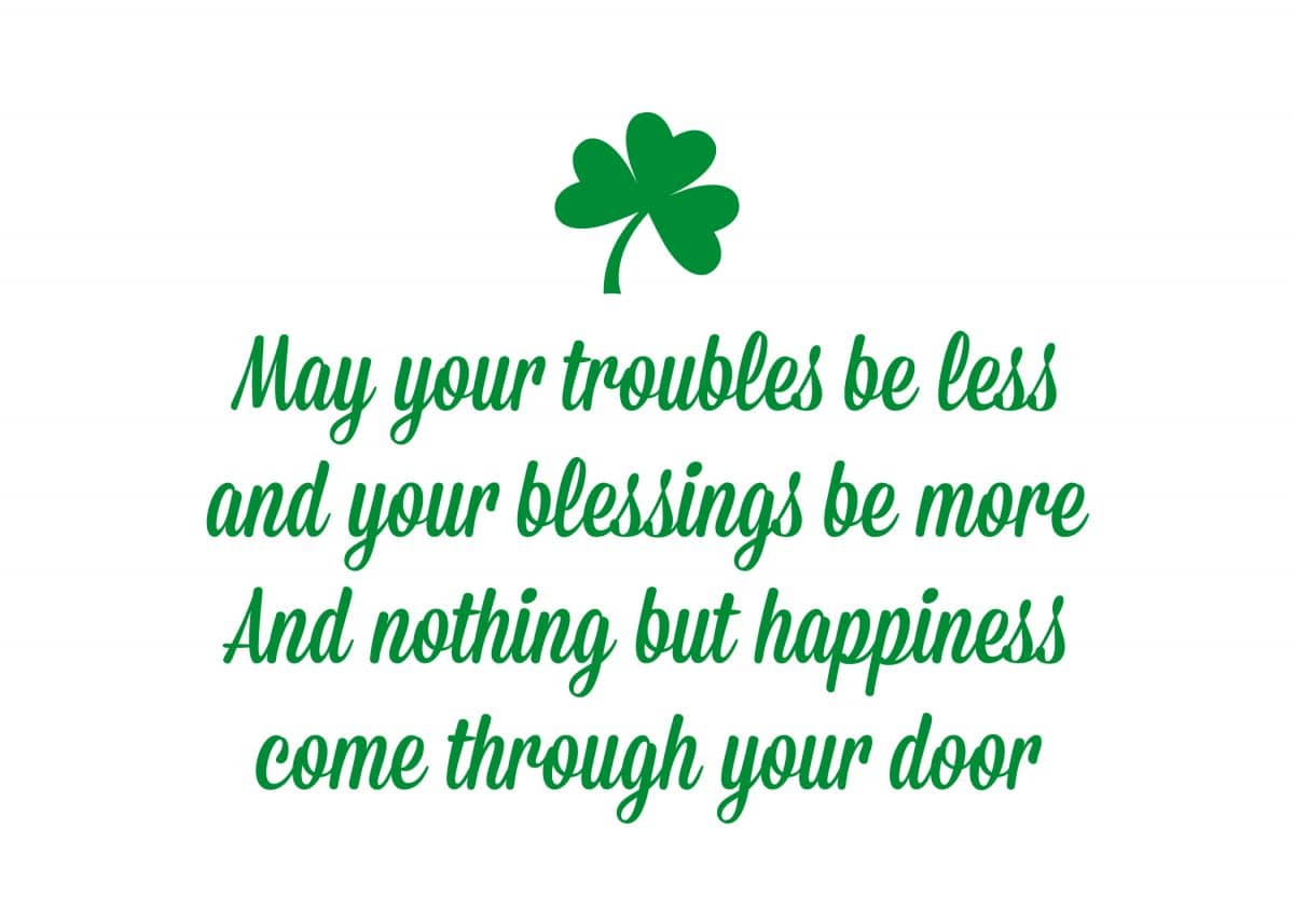 St Patrick's Day Quotes for Preschoolers