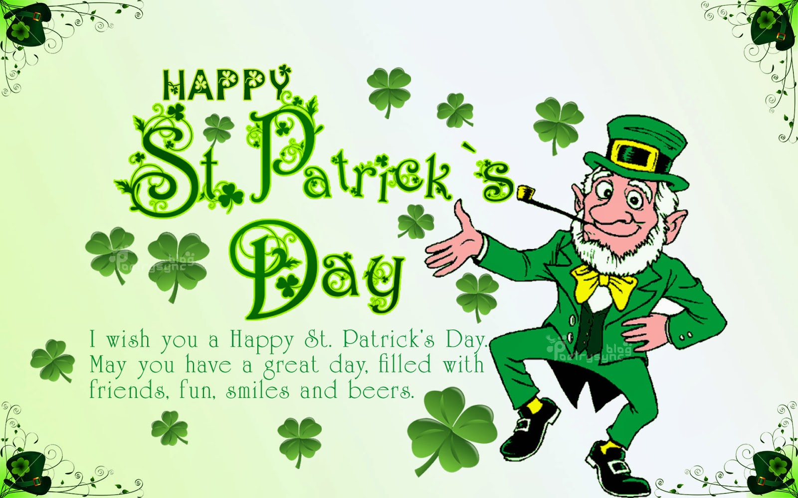 St Patricks Day Wishes Cards