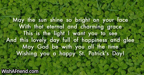 St Patricks Day Wishes For Facebook