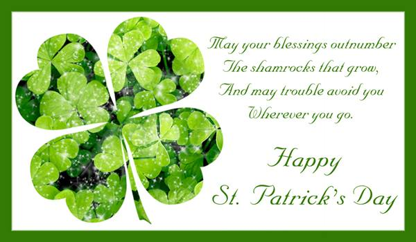 St Patricks Day Wishes Gaelic