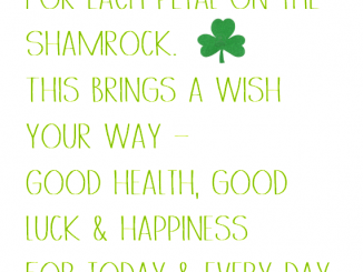 St Patricks Day Wishes in Irish