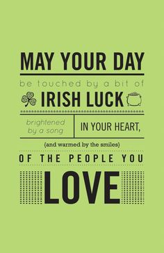 St. Patricks Day Greetings Messages