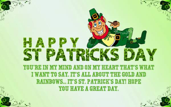 St. Patricks Day Greetings Quotes