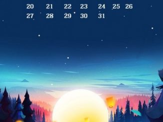iPhone January 2019 Calendar Wallpaper
