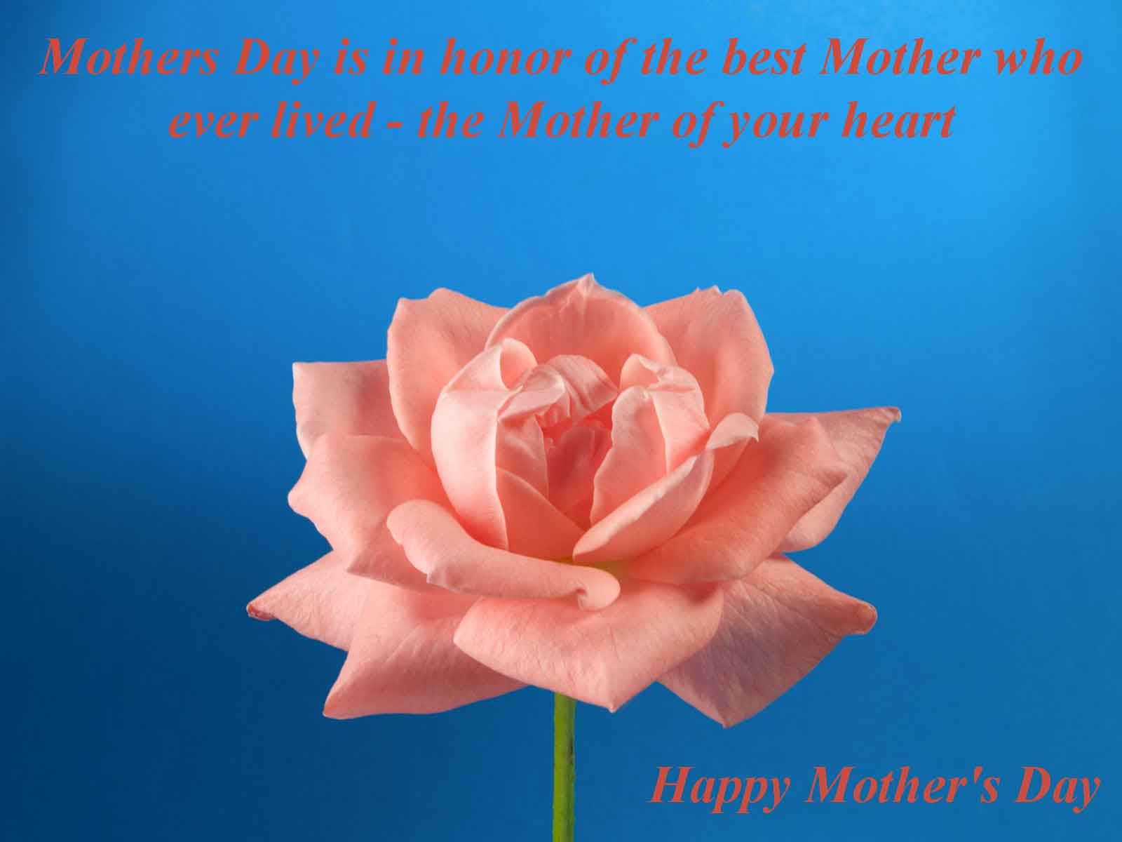 Beautiful Mothers Day Quote Wallpaper