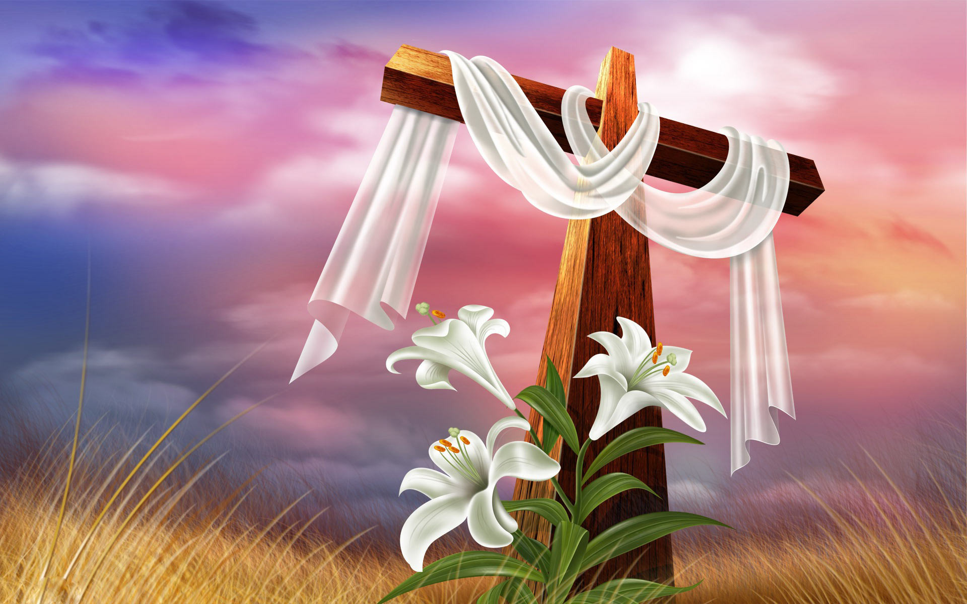 Easter Cross Pictures HD