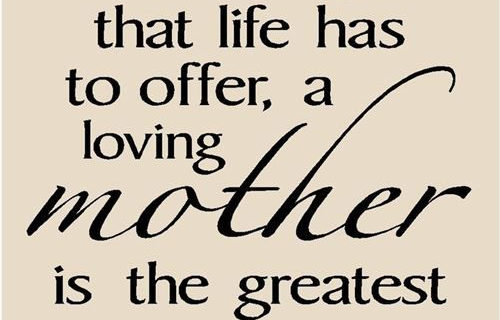 Famous Happy Mothers Day Quote