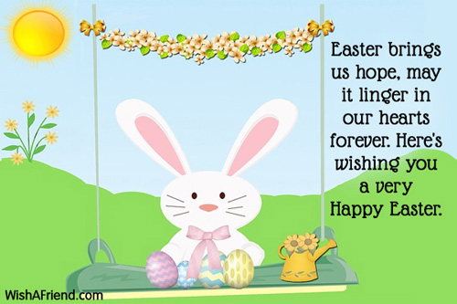 Free Happy Easter Greetings