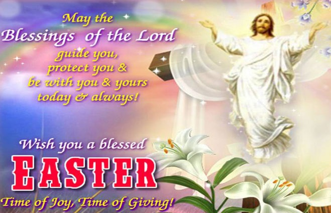 Happy Easter Greetings Religious
