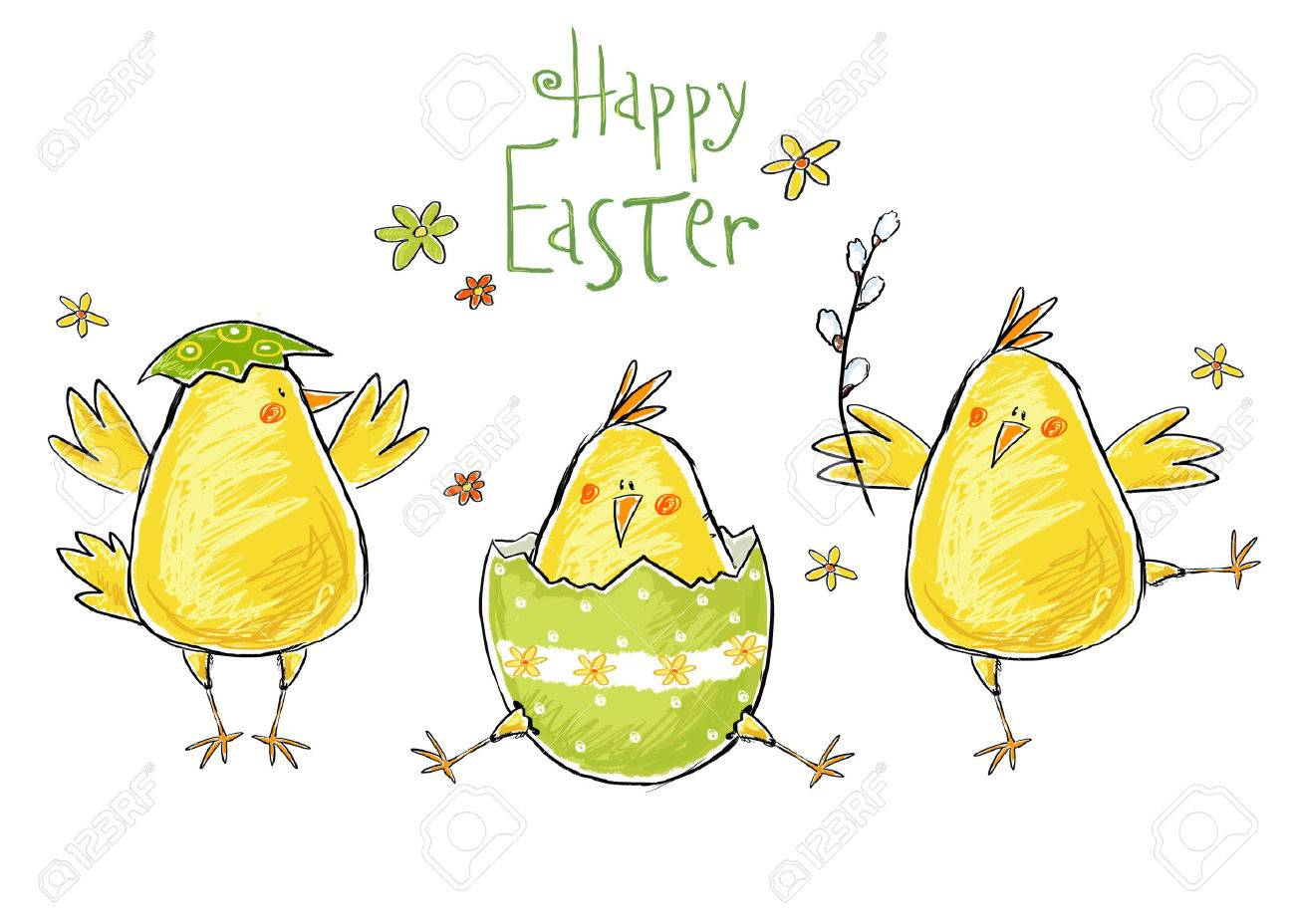 Happy Easter Images Cartoon