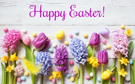 Happy Easter Images Flowers