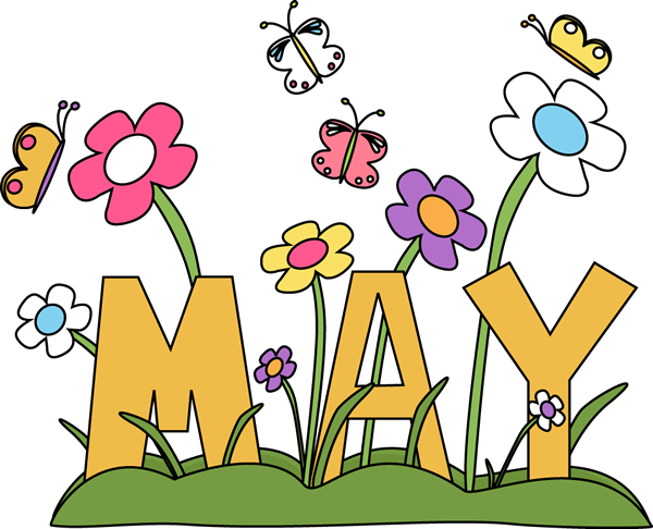 May Flowers Free Clipart