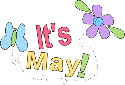 Month Of May Free Clipart