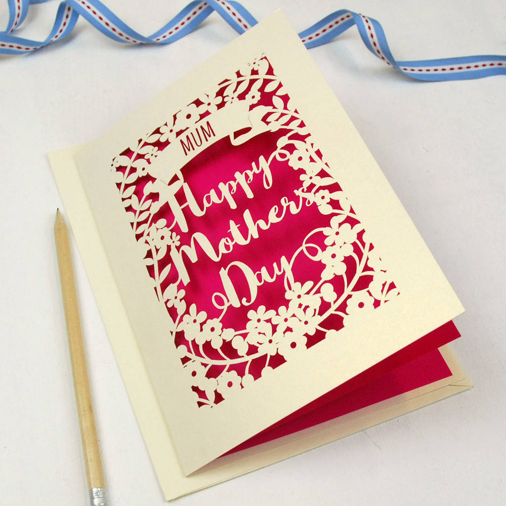 Mothers Day Fancy Cards