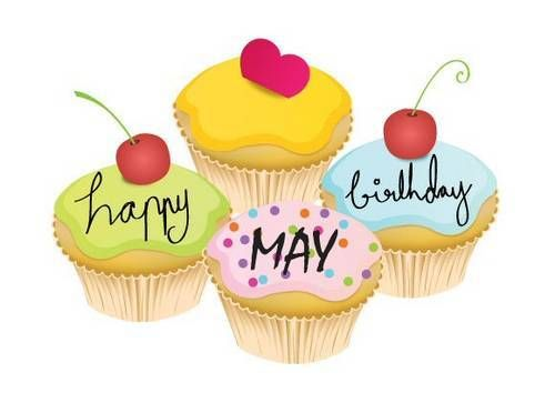 may birthday clipart