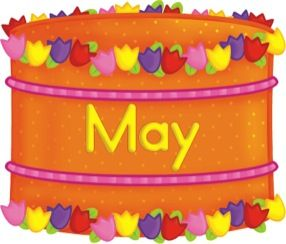 may birthday cliparts