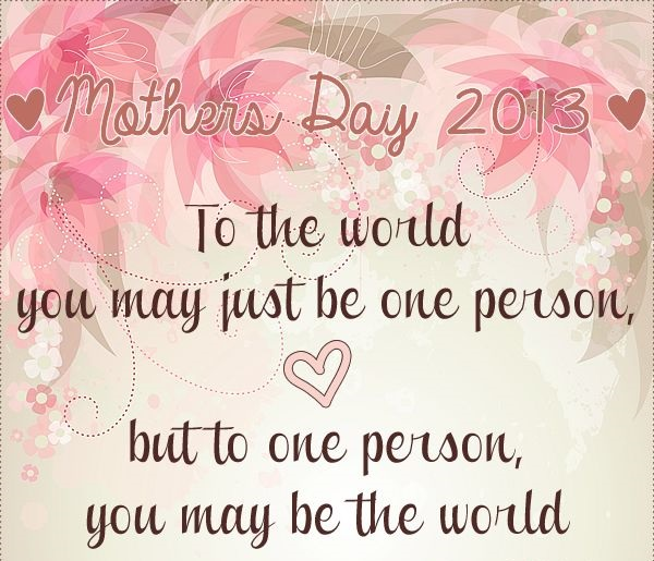 Best Mothers Day Thought
