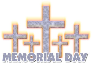 Christian Memorial Day Clipart