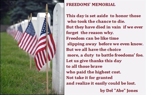 Happy Memorial Day Quotes For My Dad