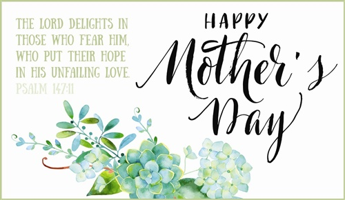 Happy Mothers Day Greeting Wallpaper